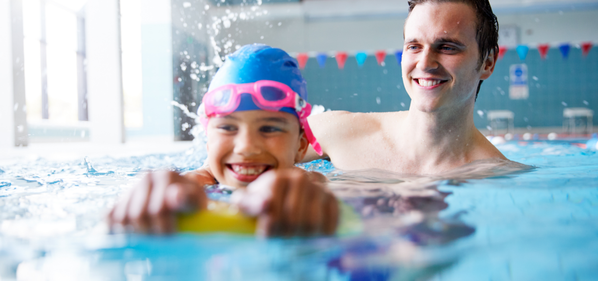Swimming classes for children and adults
